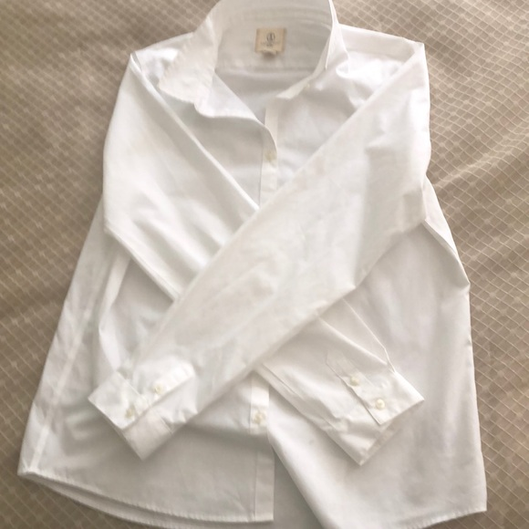 Lands' End Tops - Lands End button down blouse 13-14yrs old S16
